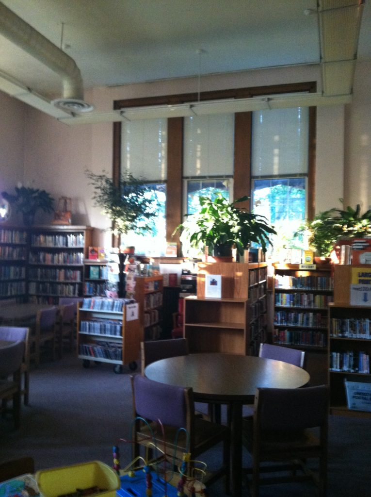 Picture of the library's main room