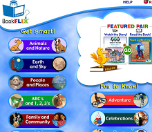 Bookflix, an e-story site for children